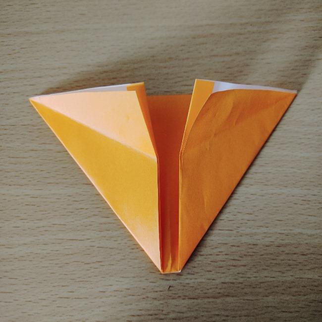 折り紙の『風船(ハート型)』の作り方 (6)