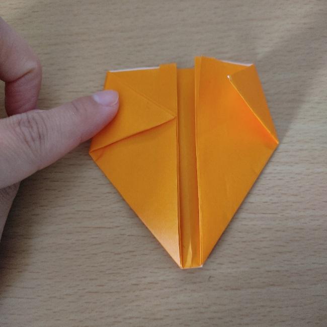折り紙の『風船(ハート型)』の作り方 (7)