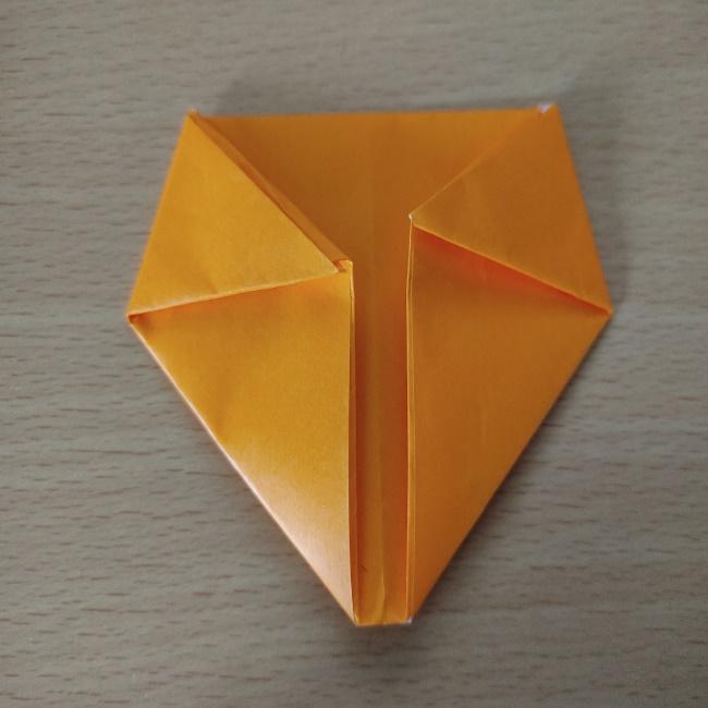 折り紙の『風船(ハート型)』の作り方 (9)