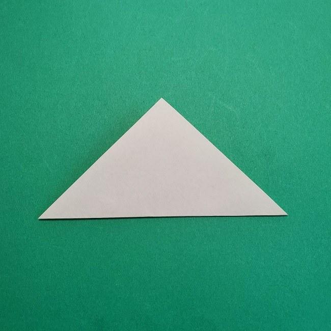 折り紙の【椿の葉っぱ】の折り方★折り図 (2)