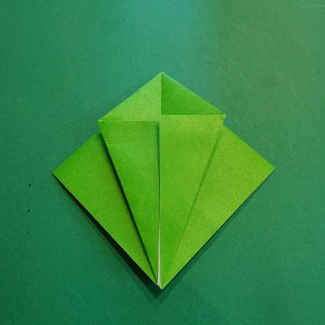 折り紙の【竹の葉】折り方 (11)
