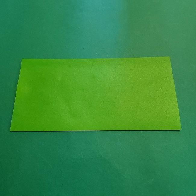 折り紙の【竹の葉】折り方 (2)