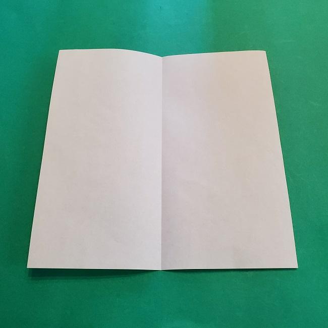 折り紙の【竹の葉】折り方 (3)