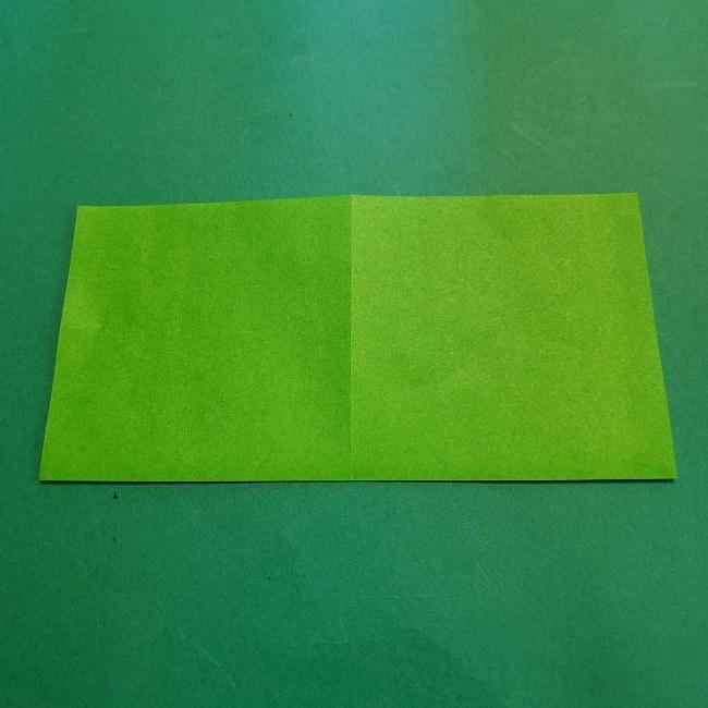 折り紙の【竹の葉】折り方 (4)