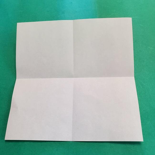 折り紙の【竹の葉】折り方 (5)