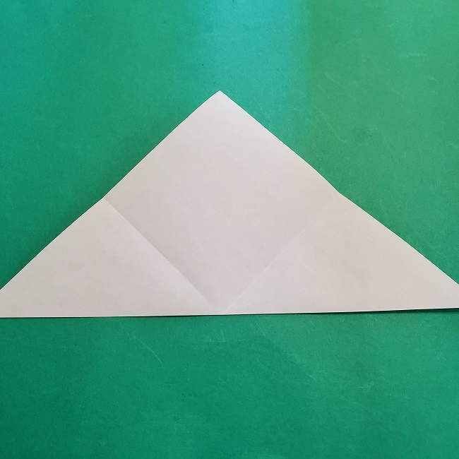 折り紙の【竹の葉】折り方 (6)