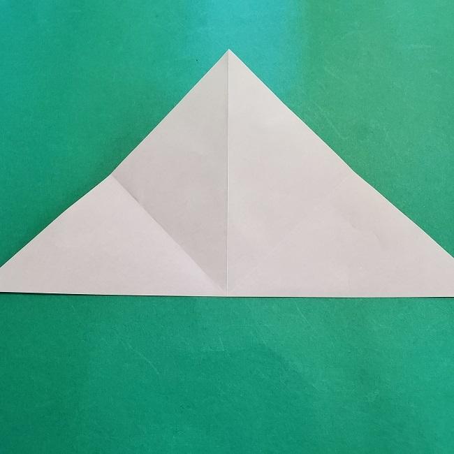 折り紙の【竹の葉】折り方 (7)