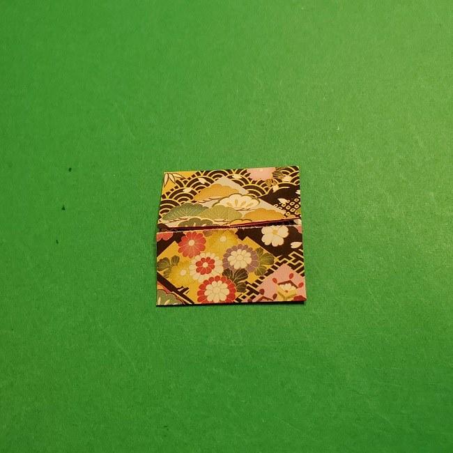 折り紙のくす玉(お正月)折り方・作り方 (10)