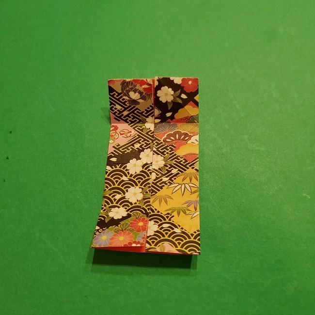 折り紙のくす玉(お正月)折り方・作り方 (11)