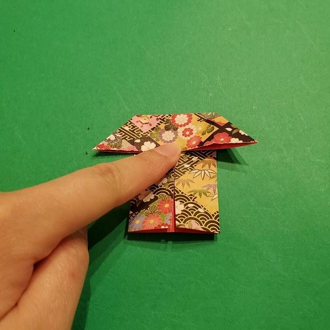 折り紙のくす玉(お正月)折り方・作り方 (13)
