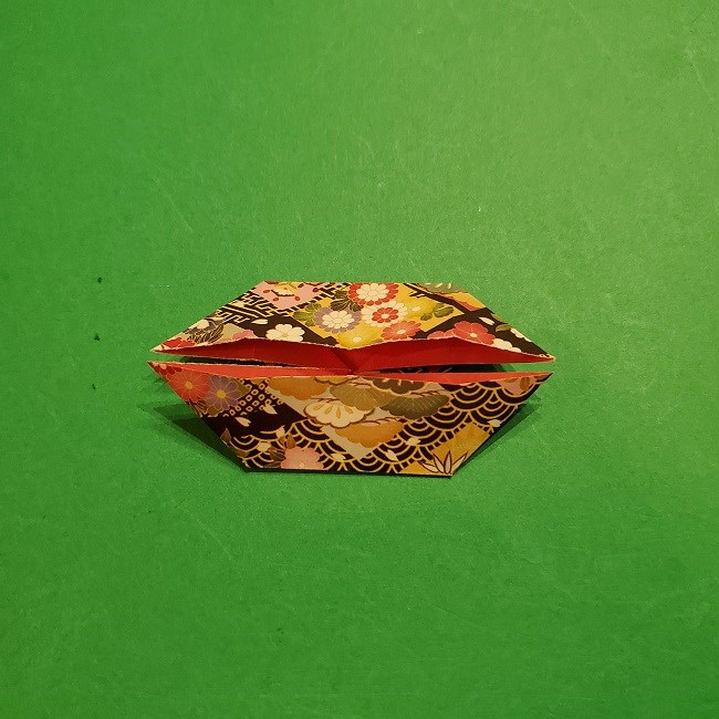 折り紙のくす玉(お正月)折り方・作り方 (14)