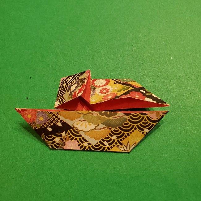 折り紙のくす玉(お正月)折り方・作り方 (16)