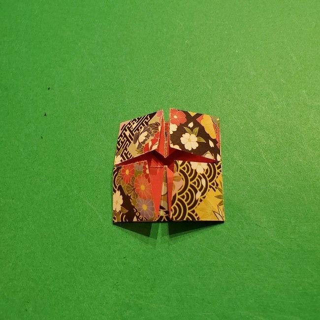 折り紙のくす玉(お正月)折り方・作り方 (17)