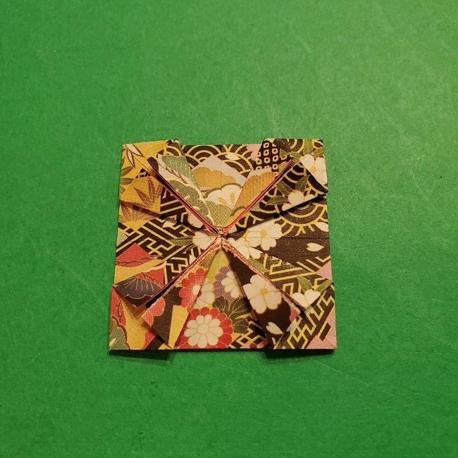 折り紙のくす玉(お正月)折り方・作り方 (19)