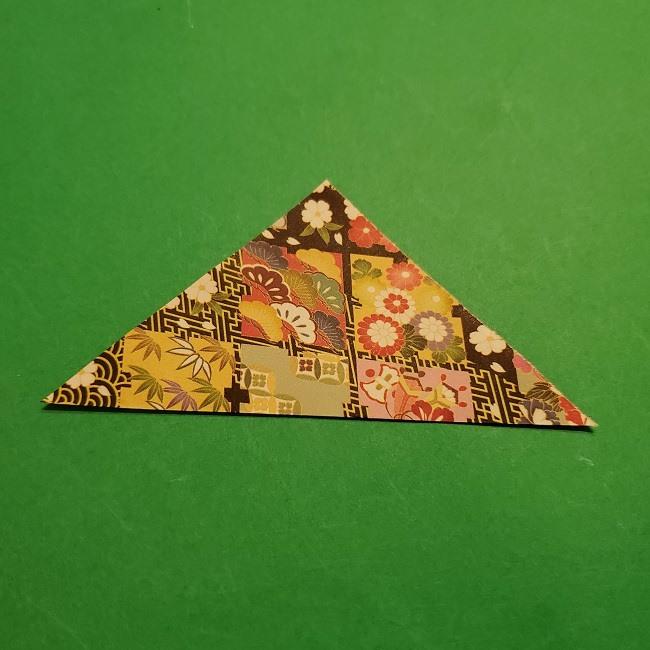 折り紙のくす玉(お正月)折り方・作り方 (2)