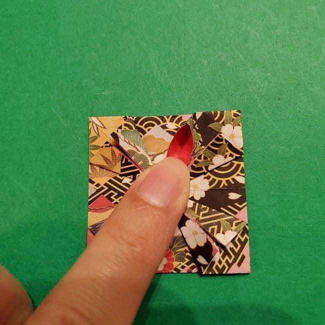 折り紙のくす玉(お正月)折り方・作り方 (20)