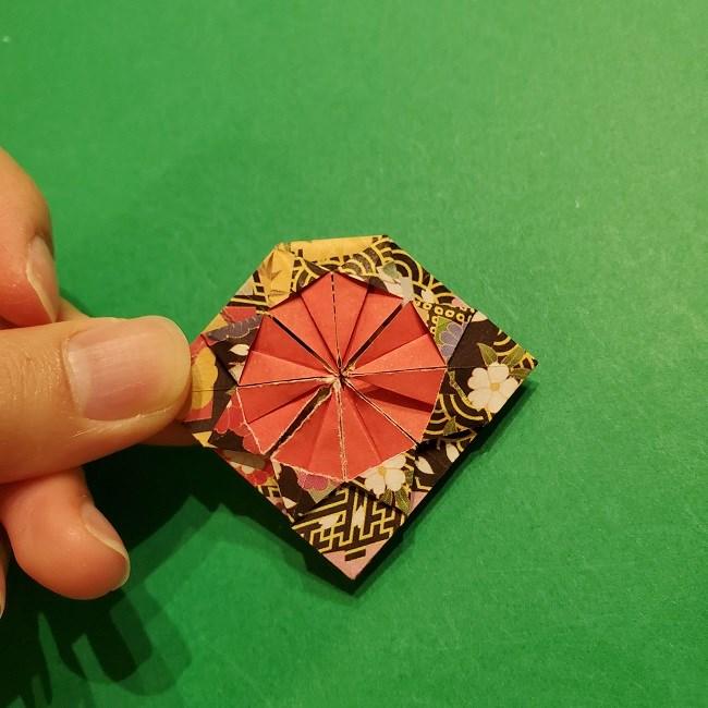折り紙のくす玉(お正月)折り方・作り方 (23)