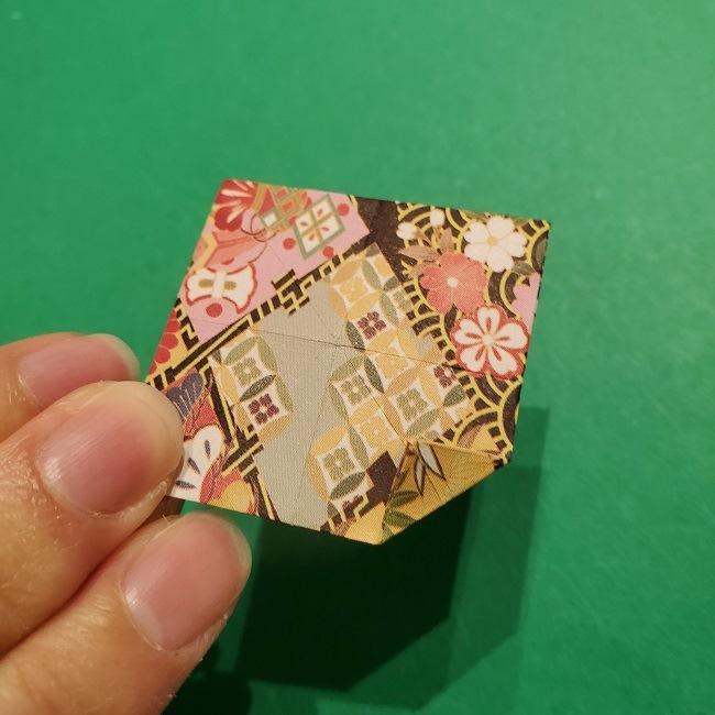 折り紙のくす玉(お正月)折り方・作り方 (24)