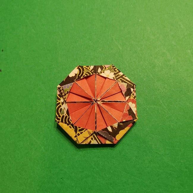 折り紙のくす玉(お正月)折り方・作り方 (25)