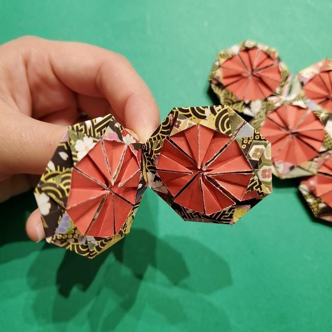 折り紙のくす玉(お正月)折り方・作り方 (27)