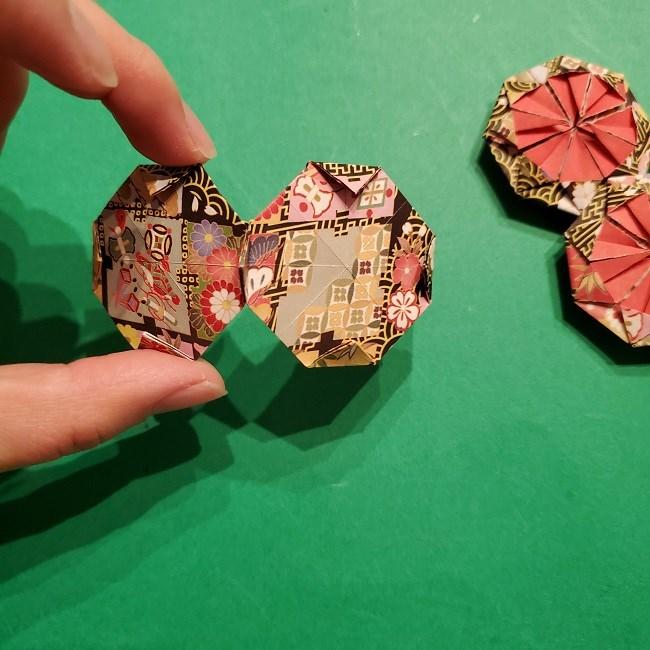 折り紙のくす玉(お正月)折り方・作り方 (28)