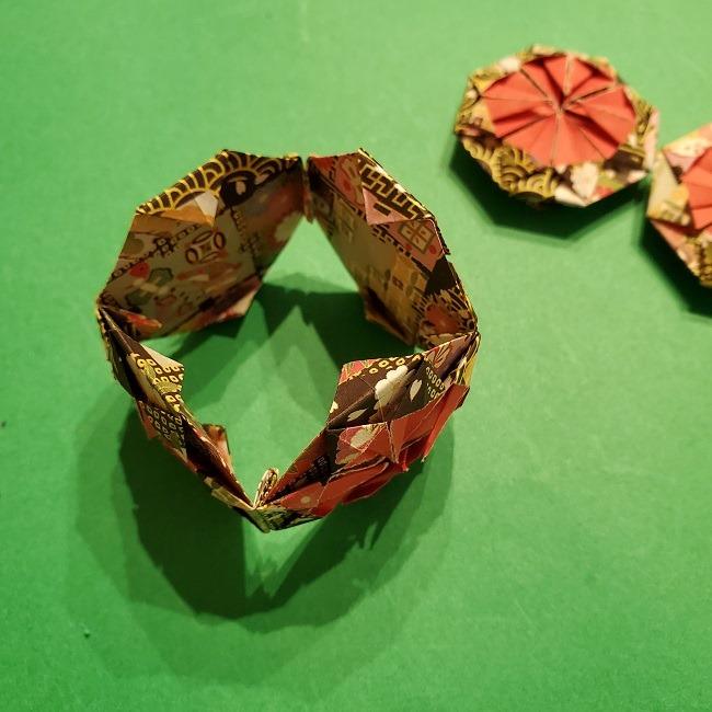 折り紙のくす玉(お正月)折り方・作り方 (29)