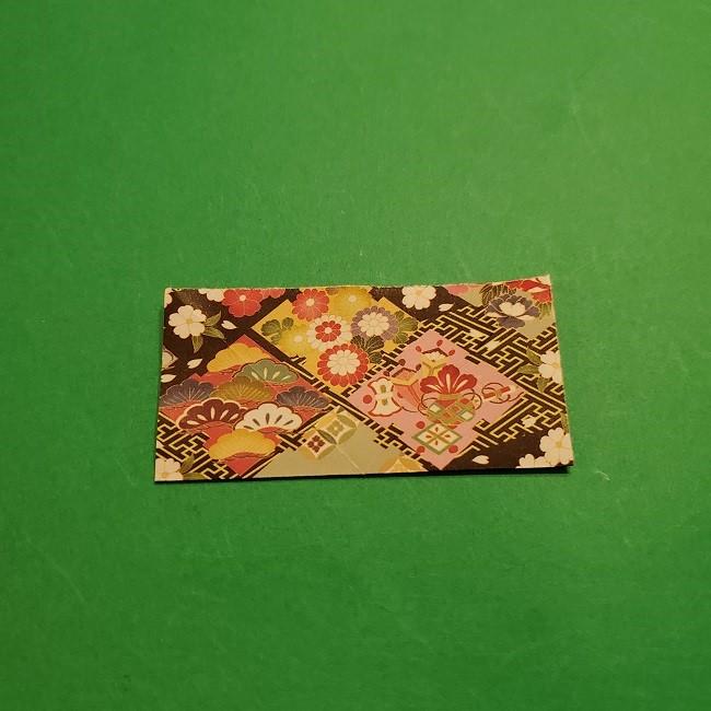 折り紙のくす玉(お正月)折り方・作り方 (4)