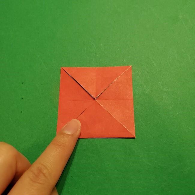 折り紙のくす玉(お正月)折り方・作り方 (7)