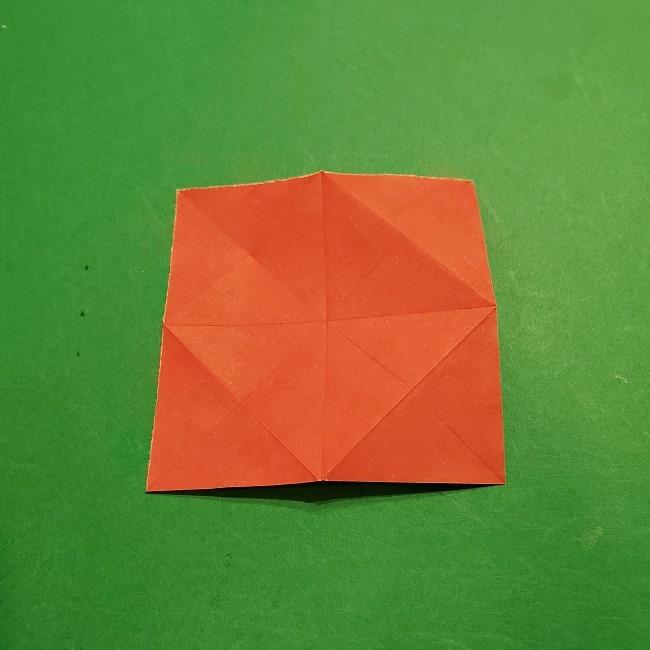 折り紙のくす玉(お正月)折り方・作り方 (8)