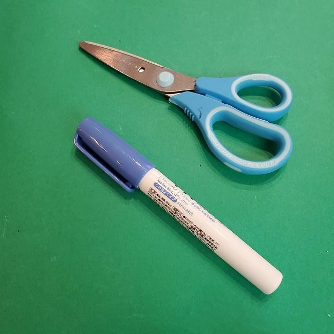 折り紙のくす玉は簡単♪6枚でつくる作り方【用意するもの】 (2)