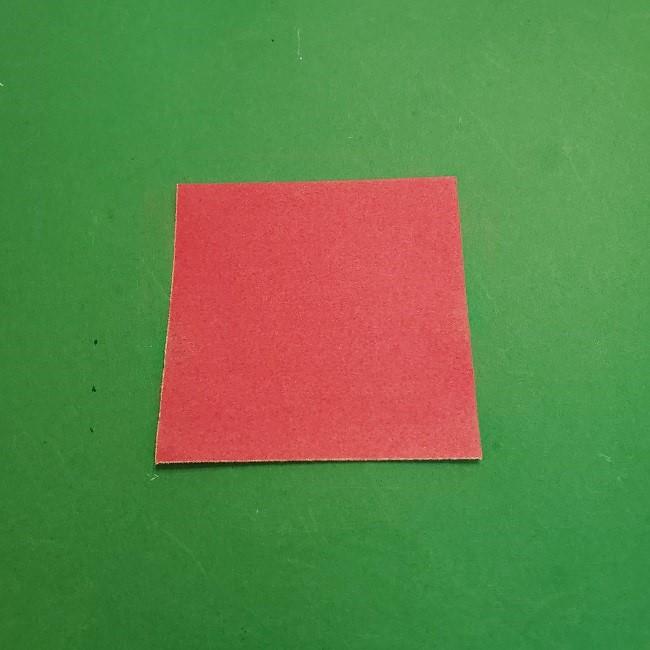 折り紙のくす玉(ハート・ミニサイズ)作り方 (1)
