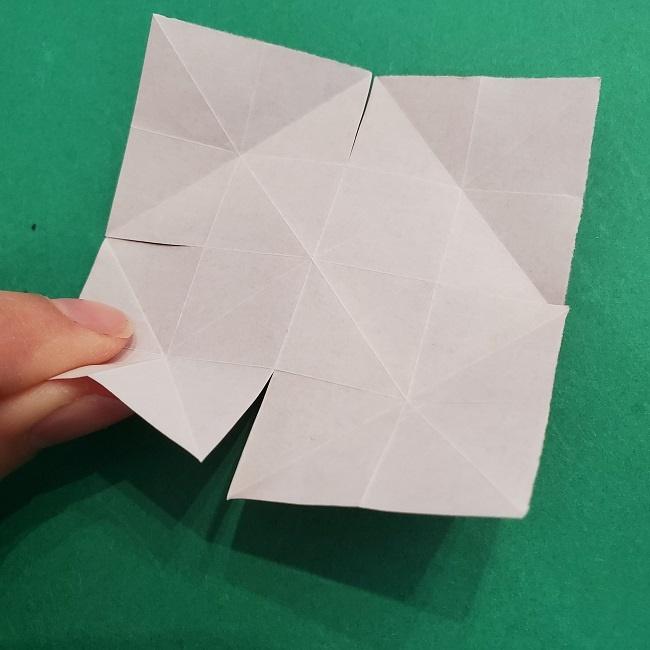 折り紙のくす玉(ハート・ミニサイズ)作り方 (10)