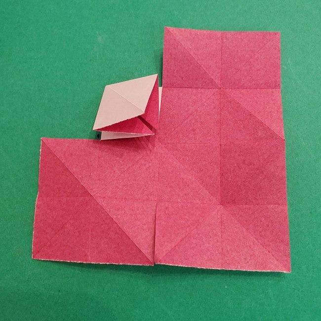 折り紙のくす玉(ハート・ミニサイズ)作り方 (13)