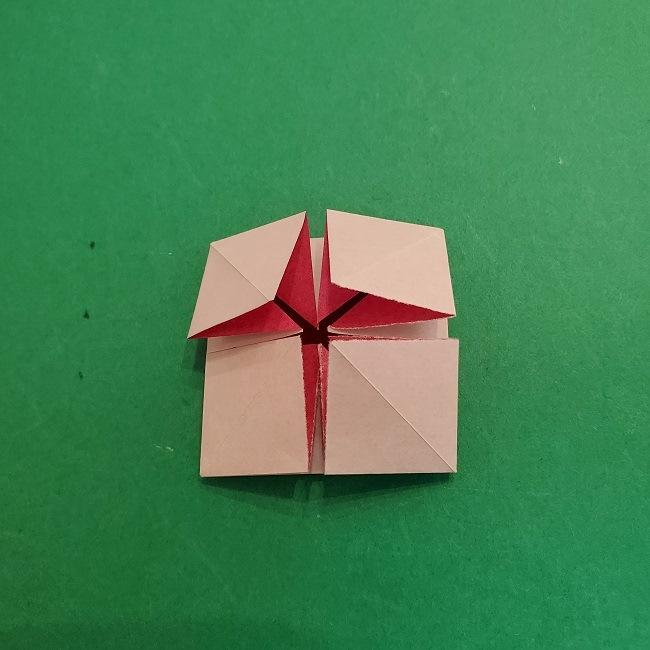 折り紙のくす玉(ハート・ミニサイズ)作り方 (14)