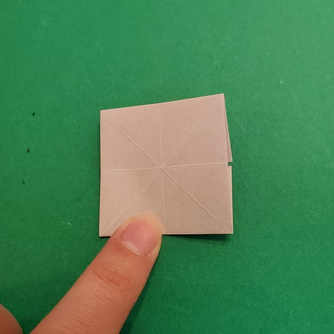 折り紙のくす玉(ハート・ミニサイズ)作り方 (15)