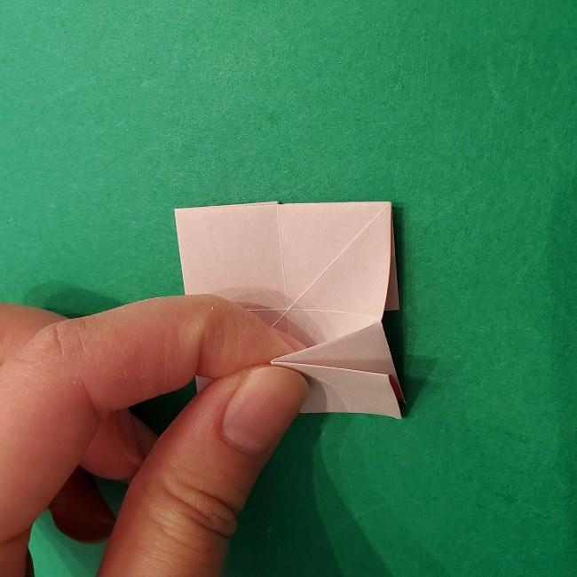 折り紙のくす玉(ハート・ミニサイズ)作り方 (16)