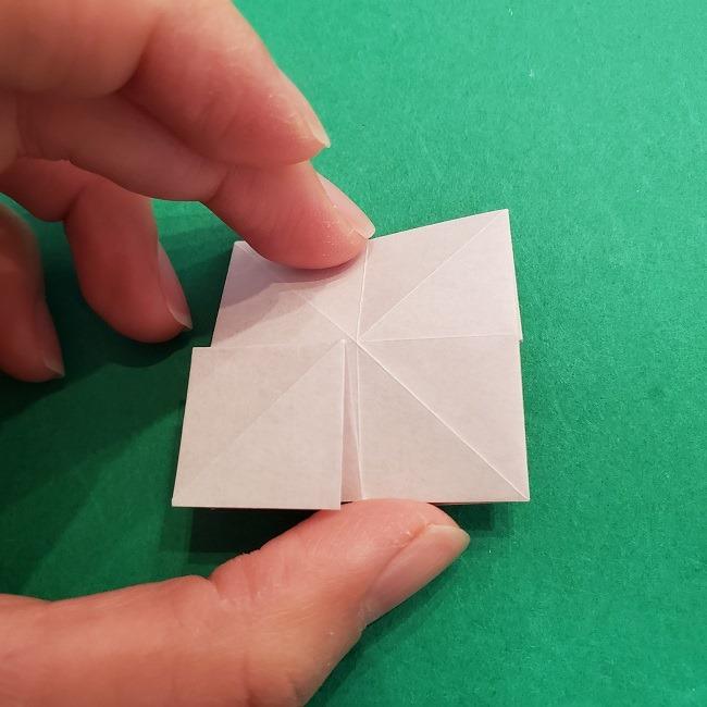 折り紙のくす玉(ハート・ミニサイズ)作り方 (17)