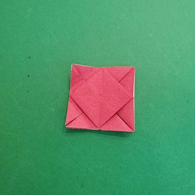 折り紙のくす玉(ハート・ミニサイズ)作り方 (19)