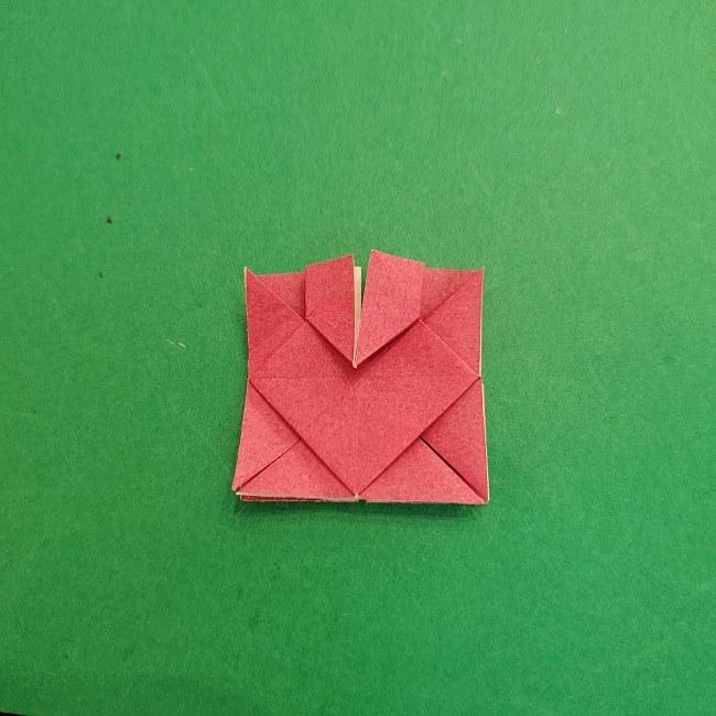 折り紙のくす玉(ハート・ミニサイズ)作り方 (21)