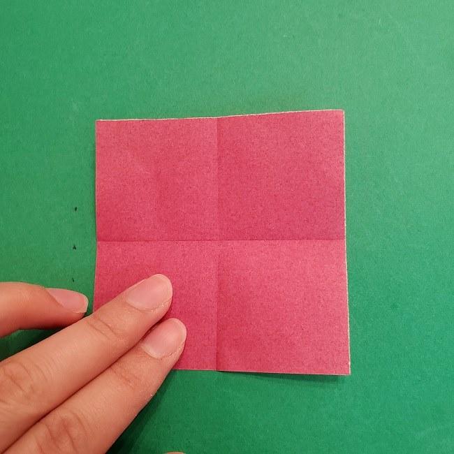 折り紙のくす玉(ハート・ミニサイズ)作り方 (3)