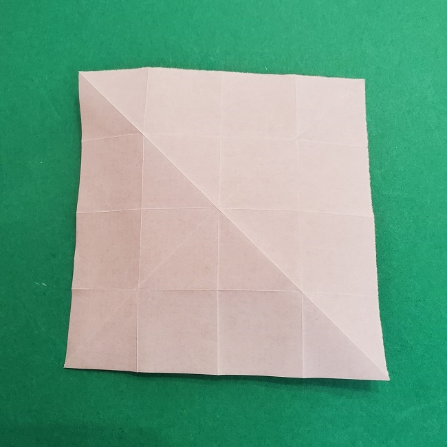 折り紙のくす玉(ハート・ミニサイズ)作り方 (7)