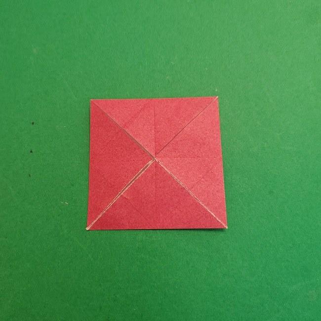 折り紙のくす玉(ハート・ミニサイズ)作り方 (8)
