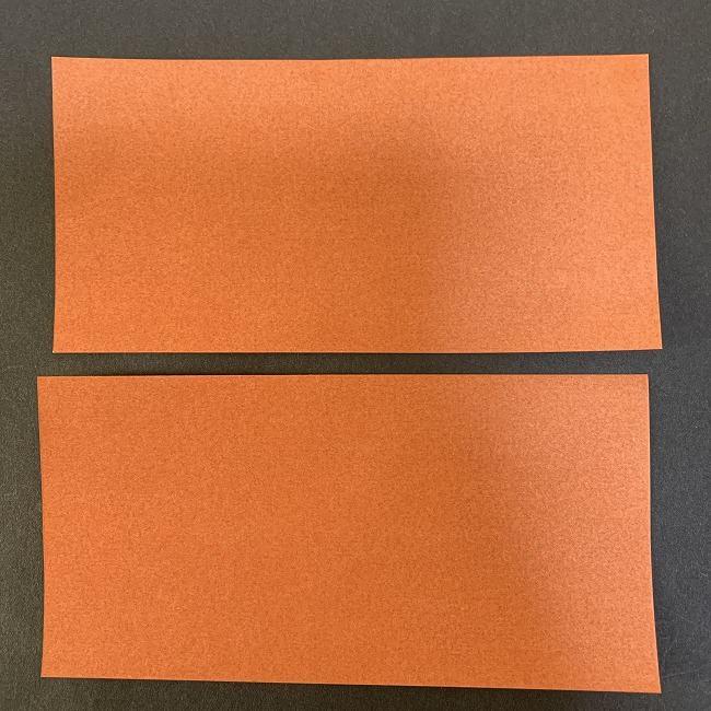 折り紙のチョコレート(立体):用意するもの (1)