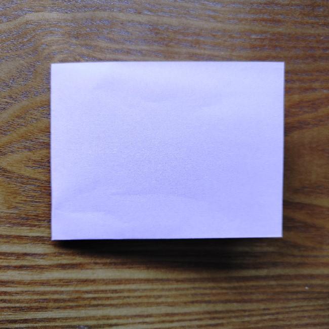 折り紙のハート(二色)の折り方・作り方 (2)