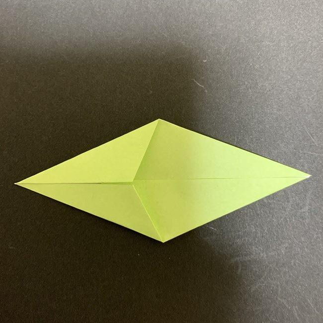 折り紙のプレゼントボックス(平面):折り方作り方 (10)