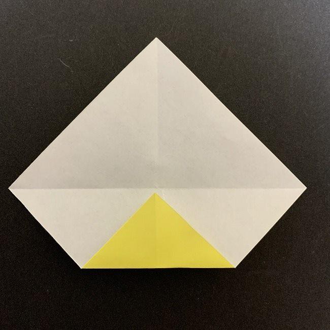 折り紙のプレゼントボックス(平面):折り方作り方 (3)