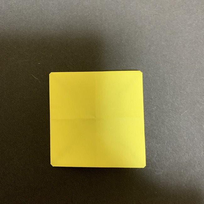 折り紙のプレゼントボックス(平面):折り方作り方 (5)