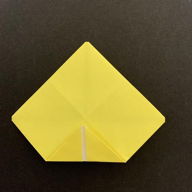 折り紙のプレゼントボックス(平面):折り方作り方 (6)
