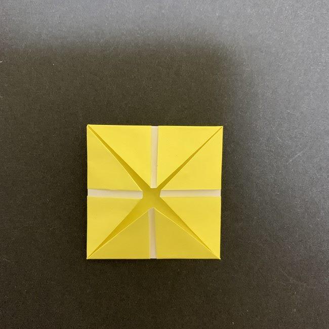折り紙のプレゼントボックス(平面):折り方作り方 (7)