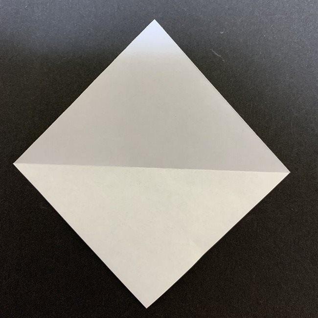 折り紙のプレゼントボックス(平面):折り方作り方 (8)